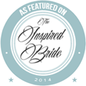 As Featured on Inspired Bride