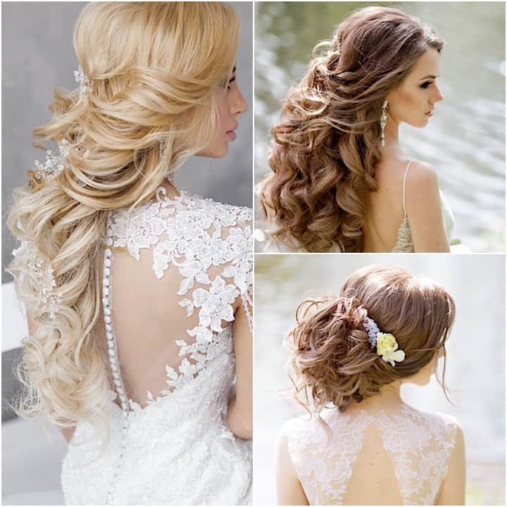 Image result for wedding hairstyles collage