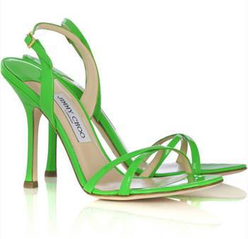 37434 in dl Shoes: Something Green