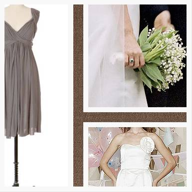 Green, Grey and White Inspiration Board