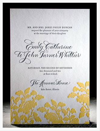 Invitation of the Week: Rhon by Smock