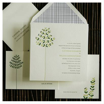 Invitation of the Week: Appleford by Linda and Harriet