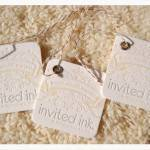 Inviting Favor Tags by Invited Ink