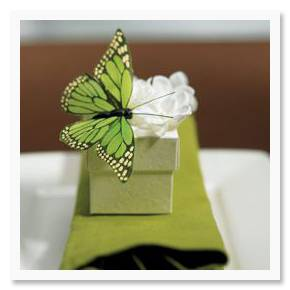 Spring Details: Butterflies from We Do Wedding Favors