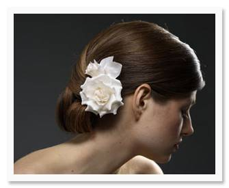flower5 Bride and Bloom:  Adorable Floral Hair Accessories