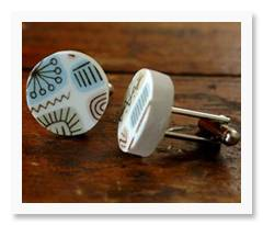 Cufflinks by Broken Plate