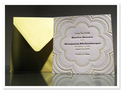 dolce Invitation of the Week: Coterie by Dolce Press