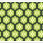 Design Element Directory: Floral Eyelet Pattern