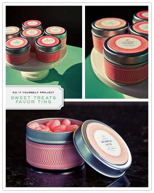 candy tin Do It Yourself Project: Sweet Treat Favor Tin