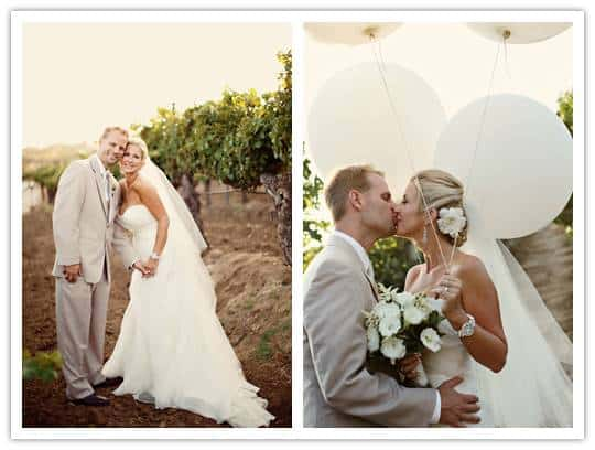 Real Wedding: Meridith + Colin