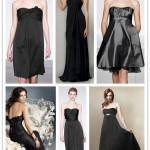 A Spectrum of Bridesmaids: Black
