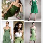 A Spectrum of Bridesmaids: Greens