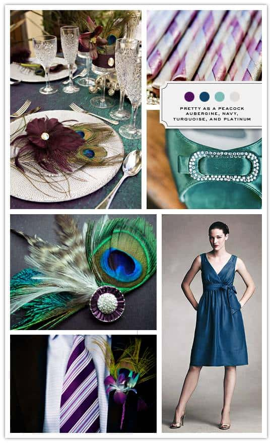 Inspiration Board: Pretty as a Peacock