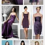 A Spectrum of Bridesmaids: Purples