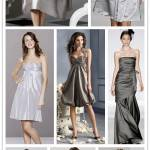 A Spectrum of Bridesmaids: Silver + Pewter