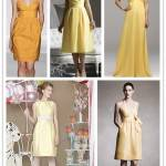 A Spectrum of Bridesmaids: Yellows
