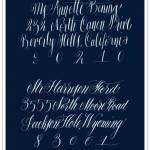 Lovely Letters: Calligraphy by Anne Elser Design