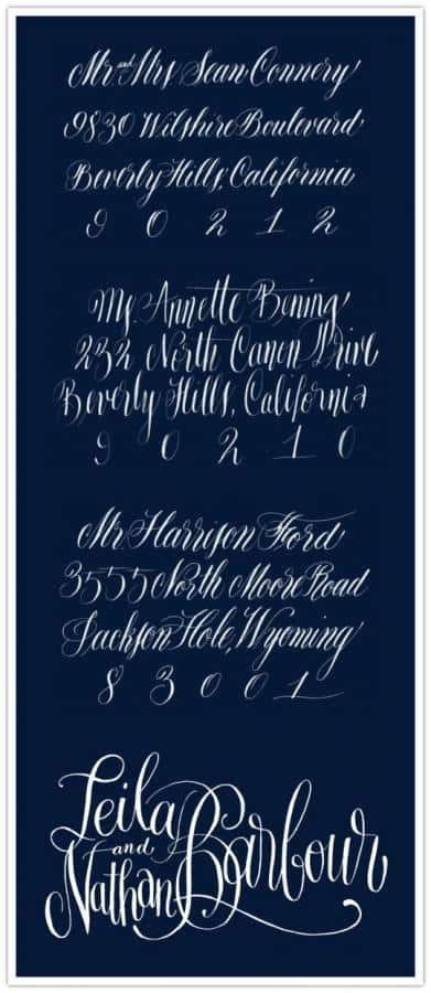 calligraphy Lovely Letters: Calligraphy by Anne Elser Design