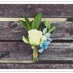 Do It Yourself Project: Something Blue Boutonniere