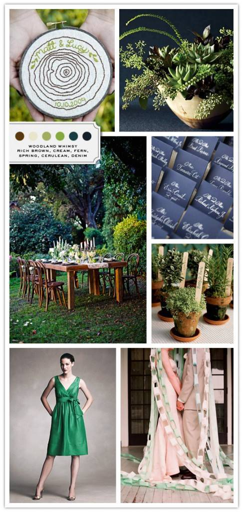 Inspiration Board: Woodland Whimsy