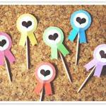 Do It Yourself Project: Award Ribbon Cupcake Toppers