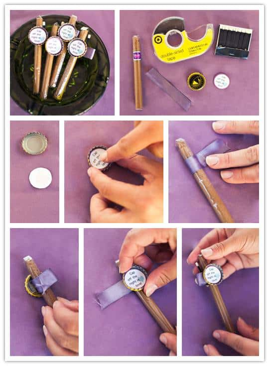 diy Do It Yourself Project: Cigar Favor