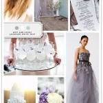Color Palette: Lavender, White, Mint