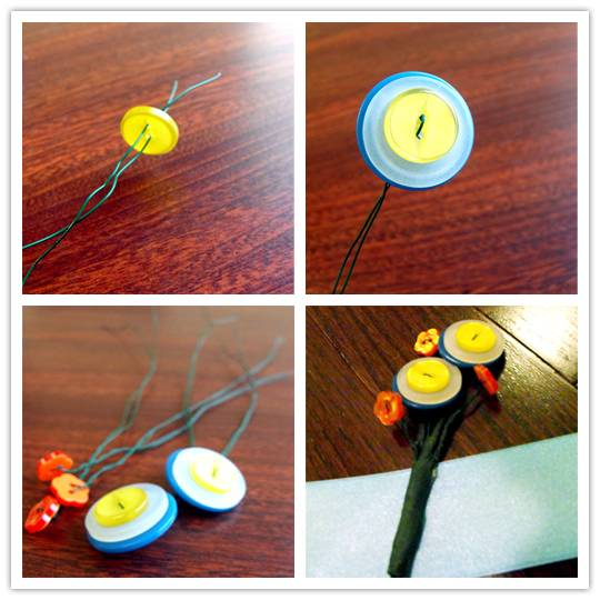 bout2 Do It Yourself Project: Button Boutonniere