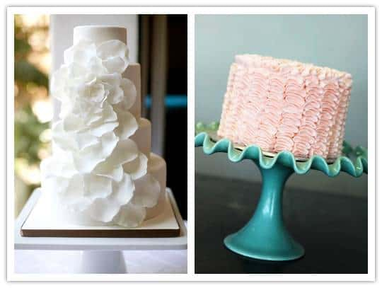 cakes2 Romance and Ruffles – for Cakes
