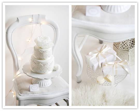 024 Inspiration Shoot: Winter White Dessert Table