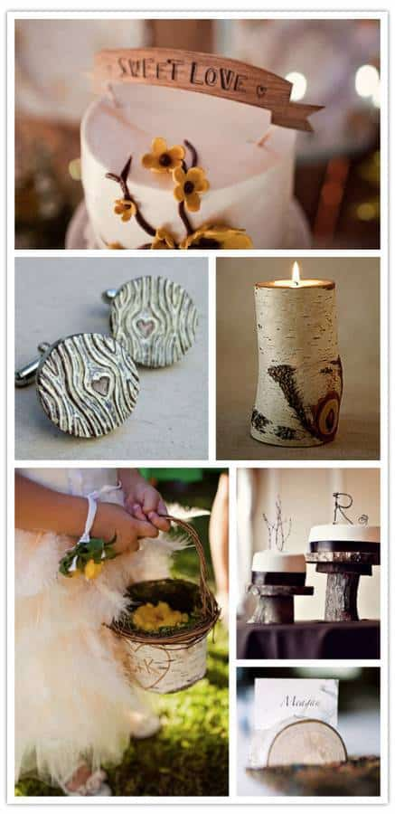 A Wooden Wedding