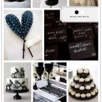 Color Palette: Black and White