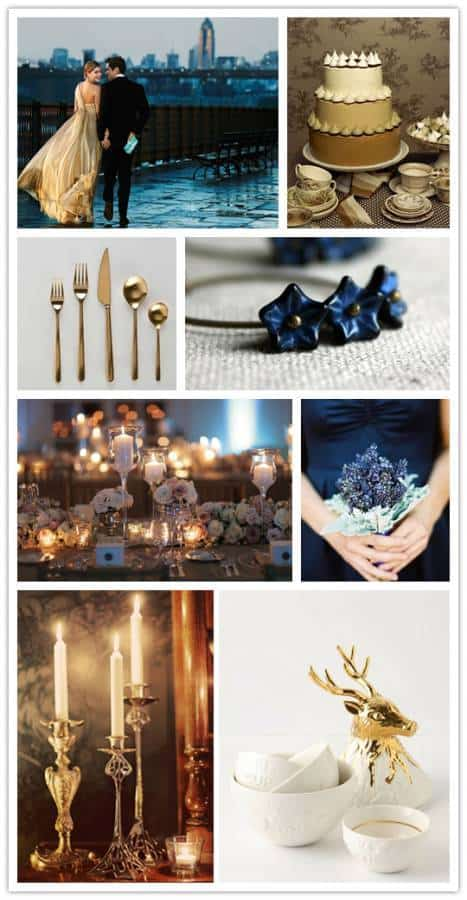 Inspiration Board: Golden Winter