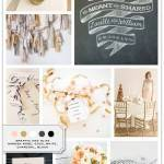 Inspiration Board: Graphic + Glitz