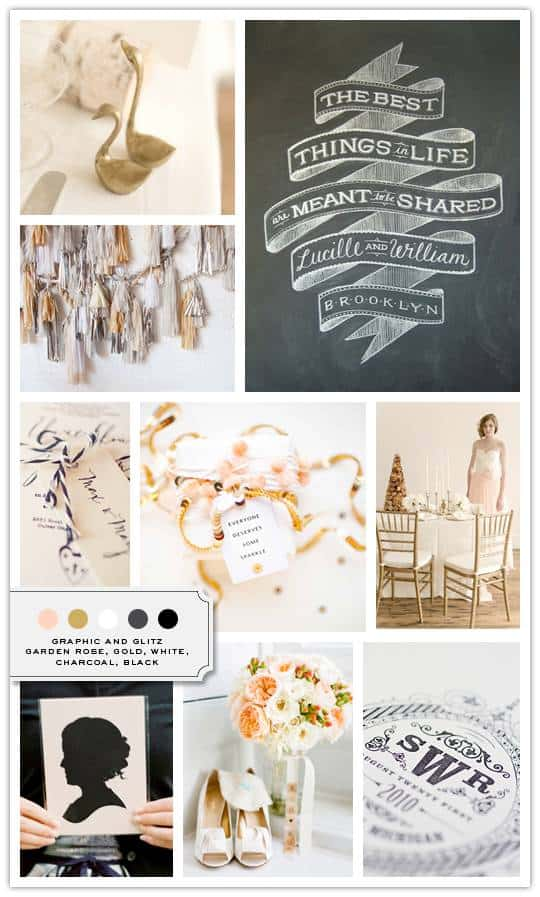 graphicglitz Inspiration Board: Graphic + Glitz