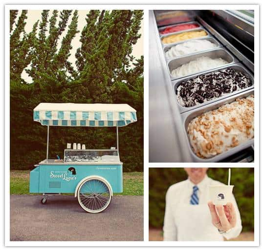 lucies Cool Treats: Sweet Lucies Ice Cream Cart