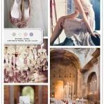 Color Palette: Stone, Ecru, Antique Rose, Blue Lilac