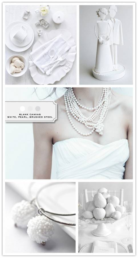 New bachelorette party invitations wedding stationery wednesday - Inspiration Board Blank Canvas Inspired Bride