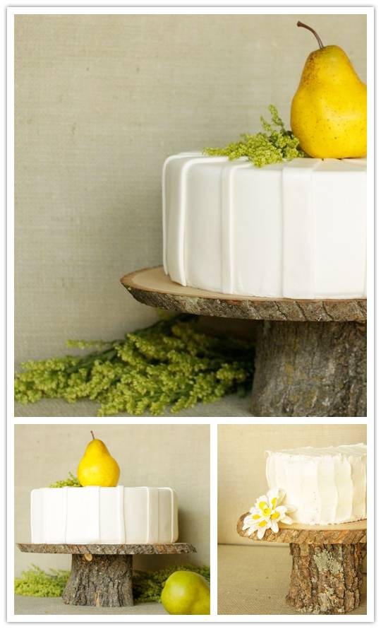 cakestands On a Pedestal: Rustic Cake Stands from Sunday Hatch