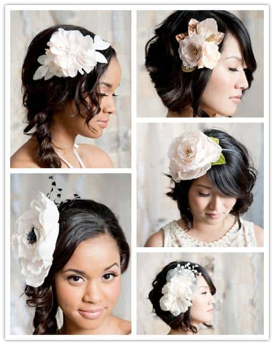 Spring Fever: Breathtaking Hair Pieces from Tessa Kim