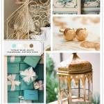 Color Palette: Tiffany Blue, White, Champagne, Antique Gold