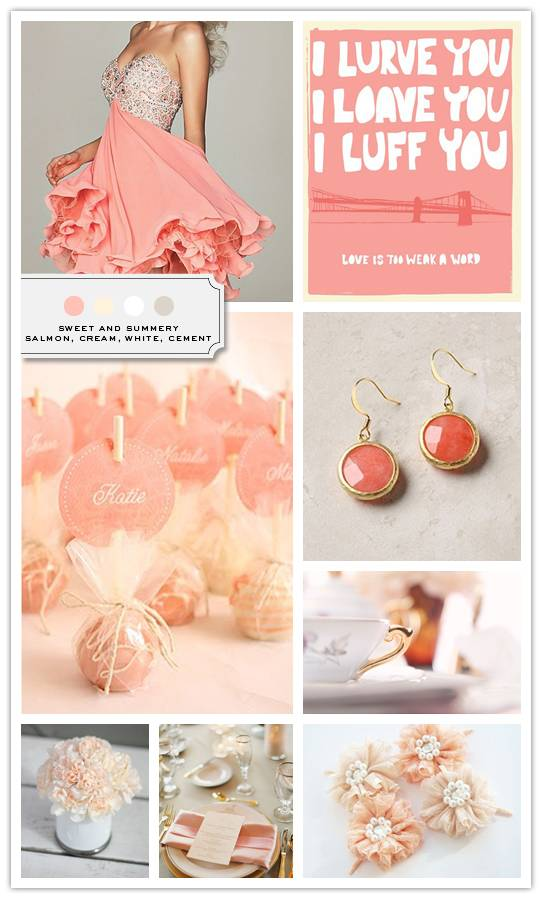 Inspiration Board: Sweet and Summer