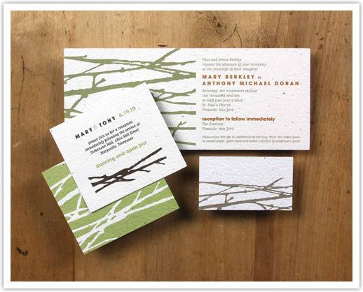 eco friendly invitation