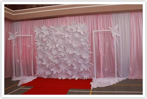 diy wedding decor backdrop diy wedding backdrop inspired 776