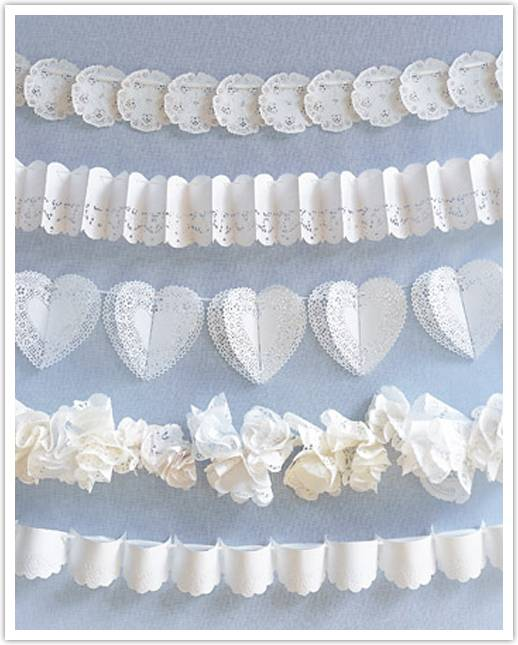 Doilies Inspirations for Weddings