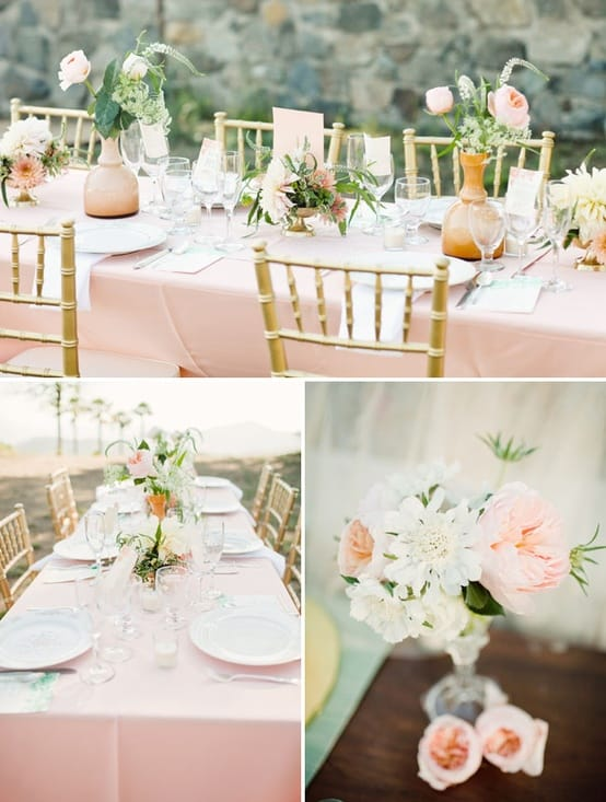 Color Palettes For A Vintage Wedding Inspired Bride