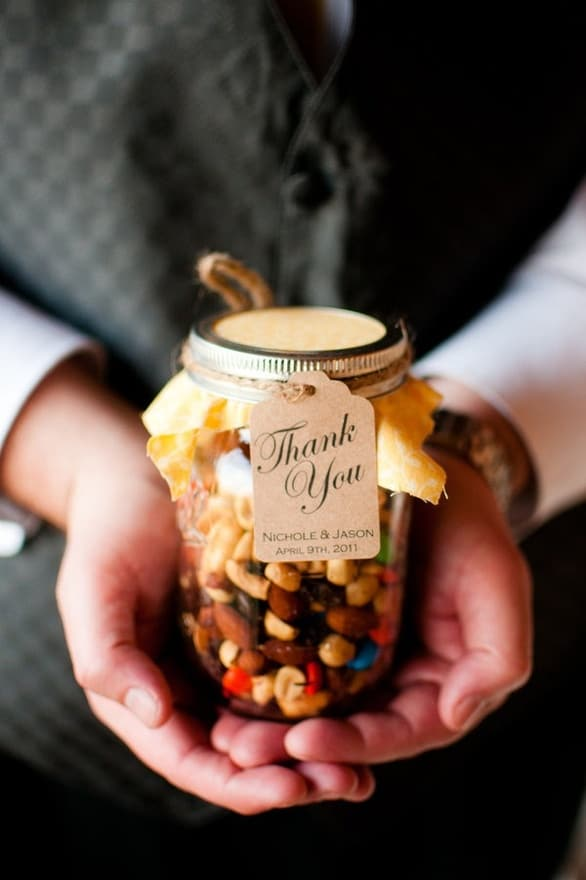 Fall Weddings: Edible Favors