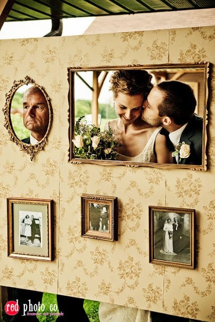 The Creative Bride: Fun Wedding Photo Frames