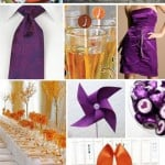Wedding Color Palette: Orange