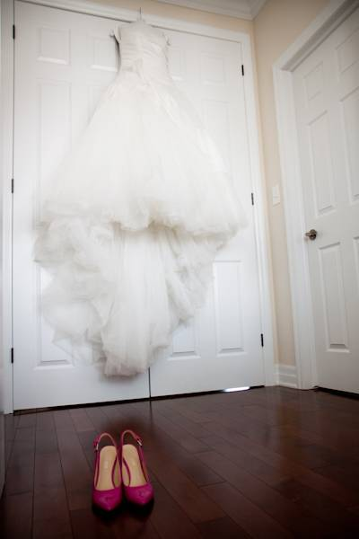 Wedding Photography: Gown and Shoes